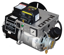 Omni waste (used) oil burner: controlls and on-board air compressor.
